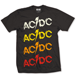AC/DC Men's Tee: Powerage Repeat