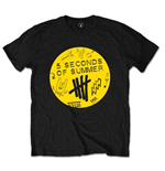 5 Seconds of Summer Men's Tee: Scribble Logo