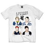 5 Seconds of Summer Men's Tee: Scribbles