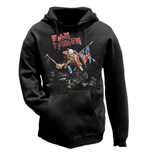 Iron Maiden Men's Hooded Top: The Trooper
