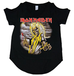 Iron Maiden Women's Cut-out Tee: Killers