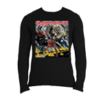 Iron Maiden Men's Long Sleeved Tee: NOTB