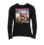 Iron Maiden Men's Long Sleeved Tee: Trooper