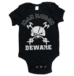 Iron Maiden Baby Grow: Beware