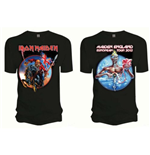 Iron Maiden Men's Tee: Euro Tour