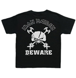Iron Maiden Toddler's Tee: Beware