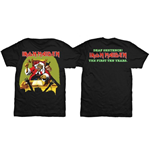 Iron Maiden Men's Back Print Tee: Deaf Sentence