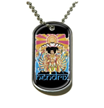 Jimi Hendrix Dog Tags: Axis Bold As Love