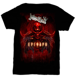 Judas Priest Men's Tee: Epitaph Red Horns