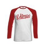 The Vamps Women's Raglan/Baseball Tee: Evans