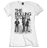 The Rolling Stones Women's Tee: Est. 1962 Group Photo
