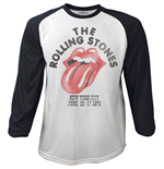 The Rolling Stones Men's Raglan/Baseball Tee: The Rolling Stones