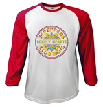 The Beatles Men's Raglan/Baseball Tee: Sgt Pepper