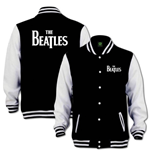 The Beatles Men's Varsity Jacket: Drop T Logo