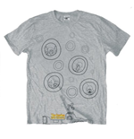 The Beatles Men's Tee: Bubbles