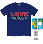 The Beatles Men's Tee: All You Need Is Love
