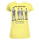 The Beatles Women's Tee: You Can't Do That