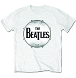 The Beatles Men's Tee: Drum skin