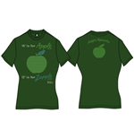 The Beatles Women's Back Print Tee: A Is For Apple