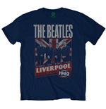 The Beatles Men's Tee: Liverpool England 1962