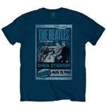 The Beatles Men's Tee: Shea Stadium 1965
