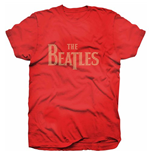 The Beatles Women's Rhinestone Tee: Drop T Logo