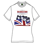 The Beatles Women's Tee: The Beatles Story