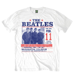 The Beatles Men's Tee: Washington Coliseum