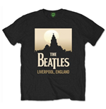 The Beatles Men's Tee: Liverpool England