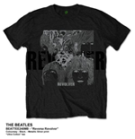 The Beatles Men's Tee: Reverse Revolver