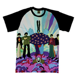 The Beatles Men's Raglan Tee: Yellow Submarine