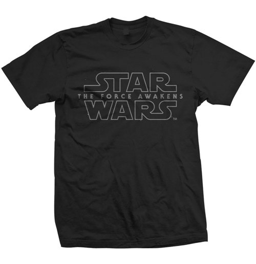 Star Wars Men's Tee: Force Awakens Logo