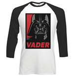 Star Wars Men's Raglan/Baseball Tee: Vader Block