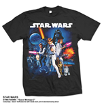 Star Wars Men's Tee: Space Montage 2.