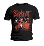 Slipknot Men's Tee: Band Frame