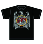 Slayer Men's Tee: Silver Eagle