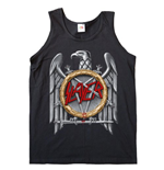 Slayer Women's Vest Tee: Silver Eagle