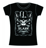 Slash Women's Skinny Fit Tee: Label
