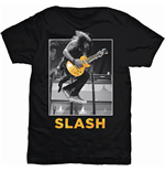Slash Men's Tee: Guitar Jump