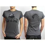 Queens of the Stone Age Women's Back Print Tee: Cover Spray