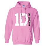 One Direction Women's Hooded Top: Logo