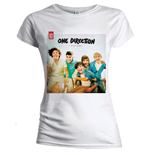 One Direction Women's Skinny Fit Tee: Up all night