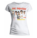 One Direction Women's Tee: Individual Shots