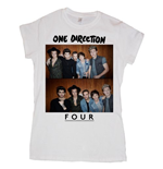One Direction Women's Tee: Four