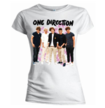 One Direction Women's Slim Tee: Flowers