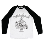 Motorhead Men's Raglan/Baseball Tee: Ace of Spades