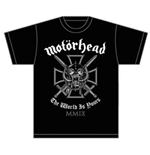 Motorhead Men's Tee: Iron Cross