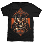 Motorhead Men's Tee: Orange Ace