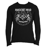 Machine Head Men's Long Sleeved Tee: Classic Crest