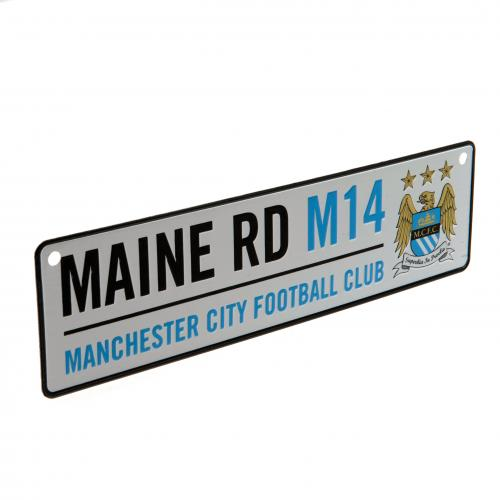 Manchester City F.C. Window Sign Main Road